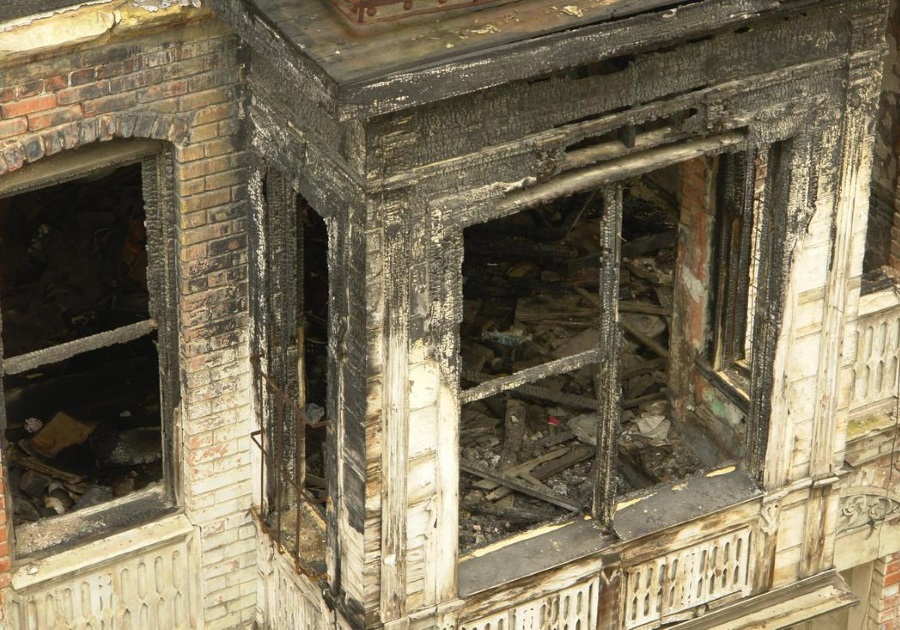 FIRE DAMAGE REPAIR BY KIRK CONTRACTS