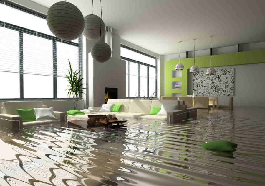 FLOOD DAMAGE REPAIR BY KIRK CONTRACTS