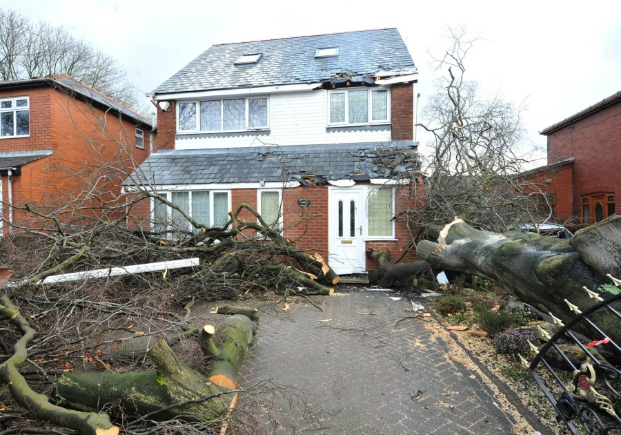 STORM & IMPACT DAMAGE BY KIRK CONTRACTS